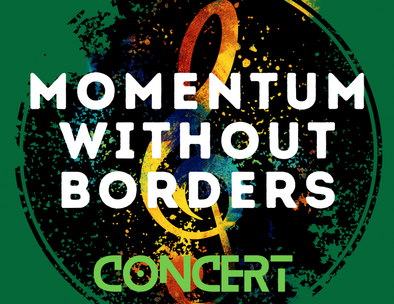 Momentum Without Borders Concert poster
